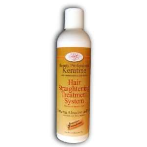 Keratin Hair Straightening Treatment System 8 Oz By Soft Hair Beauty