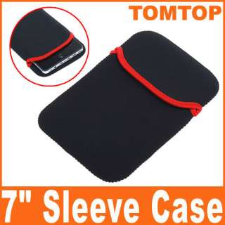 Black Soft Protect Cloth Cover Case Protector Bag Pouch For 7 Tablet