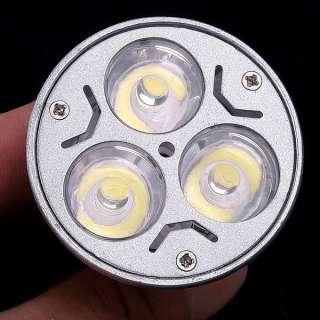 E27 3 X 1W 85 265V White LED Light Lamp Bulb Spotlight