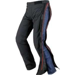 Mens Textile Street Bike Racing Motorcycle Pants   Black / Medium