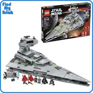 Lego Star Wars 6211 Imperial Star Destroyer Sealed NEW