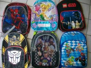 PICK Star Wars MARIO Transformers SPIDERMAN Tinker Bell DIEGO