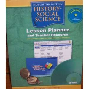 Lesson Planner and Teacher Resource, World History