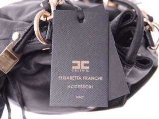 ELISABETTA FRANCHI CELYN B Tg. 252E  35% BS0362229 BAG NERO DONNA