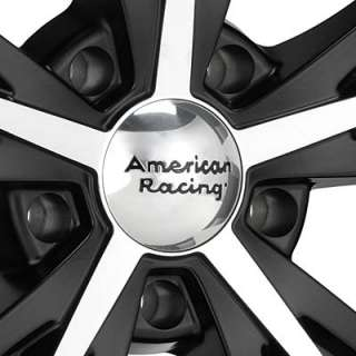 American Racing Authentic Hot Rod Daytona Machined w/Black Accent