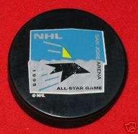 1995 All Star Game San Jose Sharks NHL Hockey Puck