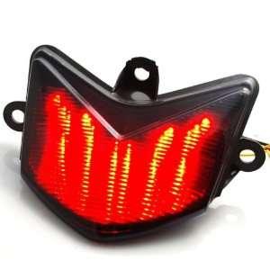 LED Integrated Turn Signal Stop Brake Tail Light Smoke