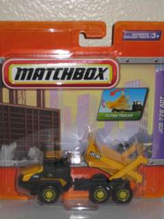 Matchbox JCB 726 ADT Dump Truck w/ WORKING DUMP BED