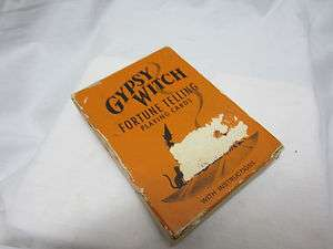 Vintage Gypsy witch Fortune Telling Cards US Playing Card Co.Cincinati