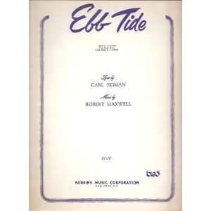 Sheet Music Ebb Tide Sigman Maxwell 56: Everything Else