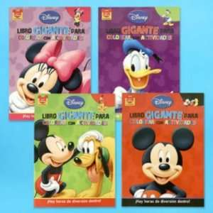 Coloring Book 96 Page Mickey Spanish 4 Case Pack 72