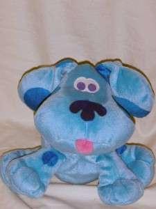 Nick Jr. Blues Clues Handpuppet Plush Toy Fisher Price Puppet Toddler