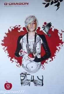 Dragon HEARTBREAKER In BIG BANG KOREAN Band Poster