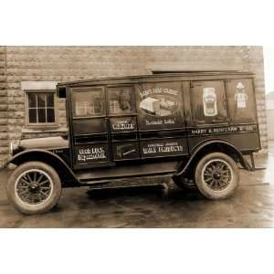 Redfearn & Co. Delivery Truck   Good Luck Evaporated Milk & Cheese