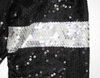 MICHAEL JACKSON Costume Billie Jean Sequin Jacket New