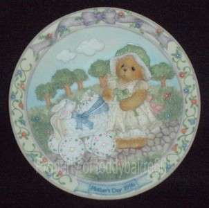 Cherished Teddies Mothers Day 1996 Plate New In Box