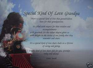 KIND OF LOVE GRANDPA POEM GIFTS FOR BIRTHDAY, CHRISTMAS, FATHERS DAY