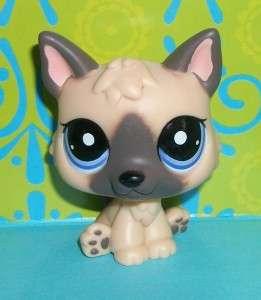 Littlest Pet Shop~#1800 GERMAN SHEPHERD PUPPY Dog~D104