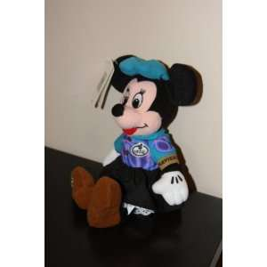 Minnie Mouse Bean Bag Navigator Stuffed Character Toy From