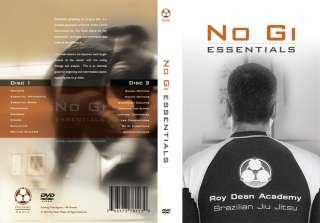 New Roy Dean No Gi Essentials DVD jiu jitsu mma ufc bjj