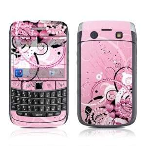 Blackberry Bold 9700 Skin Cover Case Decal Pink Hearts