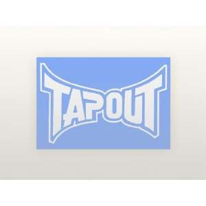 4 Vinyl Decal   Tapout Logo   Car, Truck, Notebook