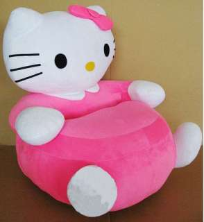 Hello Kitty Kids Plush Inflatable Sofa Chair Pink