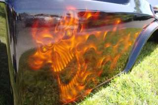 CLUB CAR DS GOLF CART CUSTOM Flames Skull PAINT FRONT REAR BODY COWL