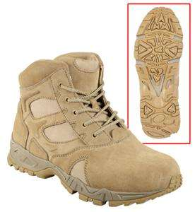 5368 ROTHCO FORCED ENTRY DEPLOYMENT BOOT / 6   DESERT TAN