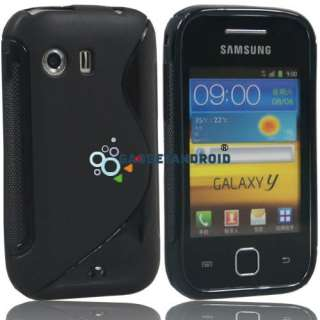 NEW 14IN1 LEATHER CASE BATTERY CHARGER HOLDER LCD FOR SAMSUNG GALAXY Y