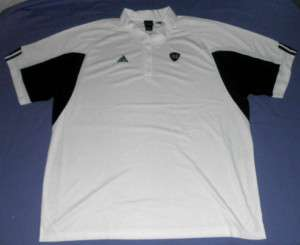Notre Dame Fighting Irish Polo Shirt 3XL Adidas White