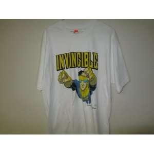 Invincible T shirt Hanes Tagless Large