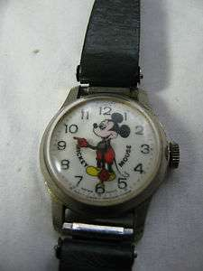 VINTAGE MICKEY MOUSE BRADLEY SWISS MADE WATCH