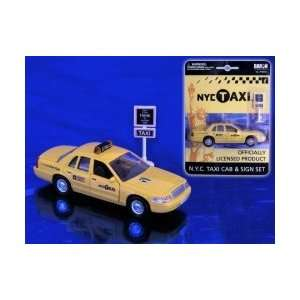Real Toys New York City Taxi Cab Set Toys & Games