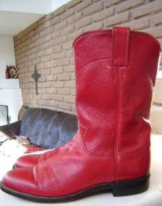 SUPER cute RED Ropers Cowboy Boots. Womens size 8.5 or Mens size 7 M