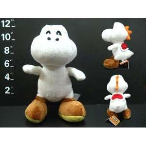 Super Mario Brothers Yoshi White Ver 10 Plush Everything