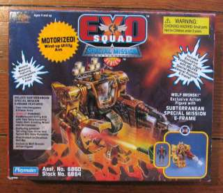 EXO SQUAD Wolf Bronski & E Frame MISB SPECIAL MISSION
