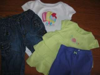33 Piece Baby Girl Size 6 9 6 12 9 Months Spring Summer Clothes Lot
