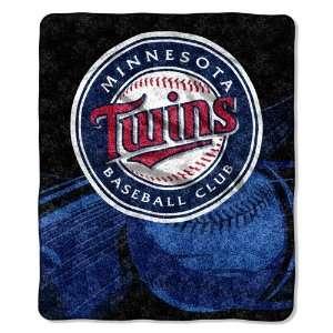 Minnesota Twins Super Soft Sherpa Blanket