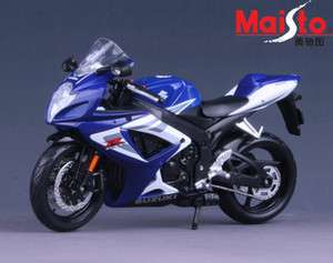 MAISTO 112 SUZUKI GSX 750R MOTORCYCLE/BIKE DIECAST MODEL/TOY
