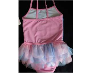 NWT Girls/Toddler Disney Princesses Tutu One Piece Ballerina Swimsuits