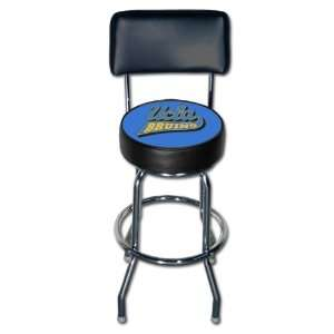 UCLA Bruins College Single Rung Swivel Bar Stool w