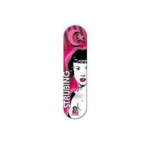 Foundation Strubing Suicide Girls Deck 7.75 x 31.5:  Sports