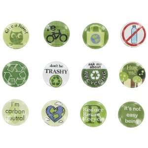 Design Ideas Green Magnet, Assorted: Home & Kitchen