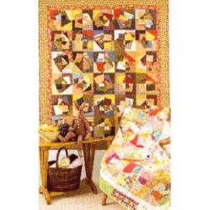 7466 PT Crazy Mixed Up Quilt Pattern by Threaded Pear Studio