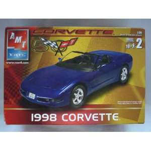 AMT ERTL 1998 Corvette Model Kit 125 Skill 2 Toys