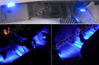 Car Interior Dash Floor Foot Decoration Light Lamp Cigarette Lighter