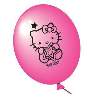 Kitty Pink Stars Partyware   All Under 1 Listing   Free Post