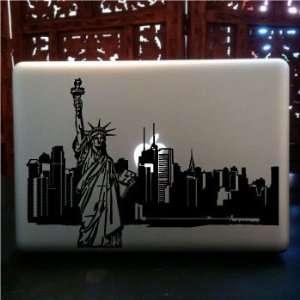 New York City Statue Liberty Skyline vinyl Decal