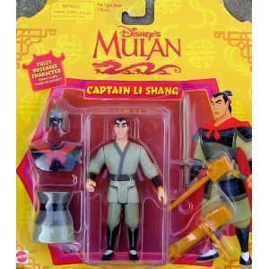 Disney Mulan Captain Li Shang Action Figure: Toys & Games